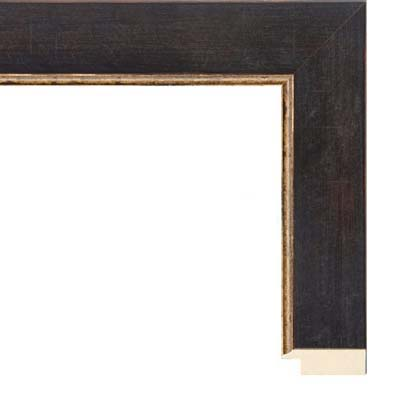 594660629957 Black And Gold Thin Picture Frame
