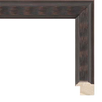 75061534e69c Thin Ribbed Brown Picture Frame