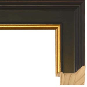 6370aeb4212c Popular Black And Gold Picture Frame